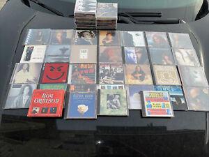 LOT OF 50 CD's Rock Bon Jovi,  Meat Loaf Eagles Elton John Billy Joel ETC.......