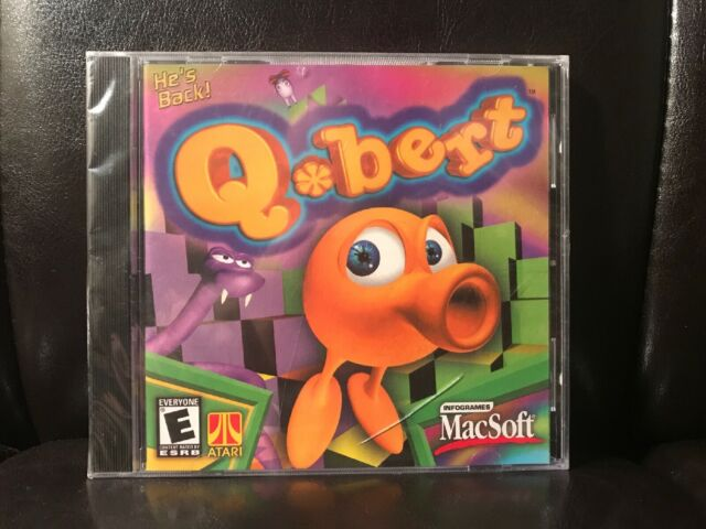 Qbert (Mac, 2001) MacSoft ATARI - RARE Apple - Sealed / New