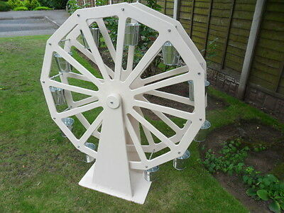 Candy Cart Ferris Wheel Colour White for Sale 3 Ft in Diameter 12 Buckets 4""