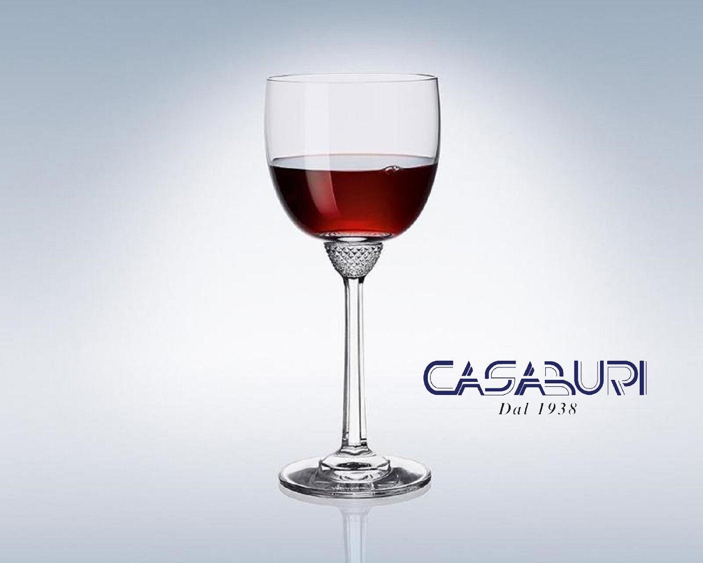 Villeroy & Boch OCTAVIE Set 6 Verres à Vin Rouge Cristal 196 mm,0.28 l