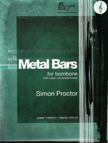 Proctor: Metal Bars Treble Clef Trombone /& Piano BW2139TC