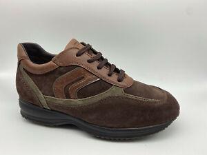 Shoes Sneakers Geox Happy Suede Brown Type Hogan Interactive - 20 ...