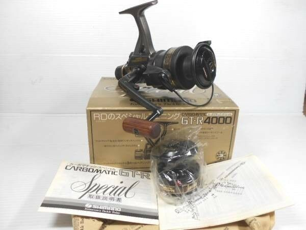 Shimano Carbomatic GT-R 4000 SPECIAL Fishing reel Made  In Japan NOS  we supply the best