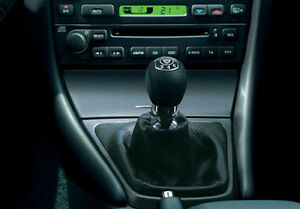 Genuine-Leather-Shift-Boot-Gear-Gaiter-Cover-Sleeve-fit-Jaguar-X-TYPE-2001-2009