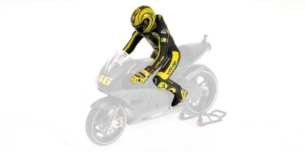 Valentino ROSSI RIDING FIGURE DUCATI MOTOGP 2011 1:12 MODEL MINICHAMPS