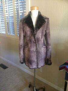 Shearling L Jacket donna Faux M Sliming Fur da Coat Lines ffFT6nq