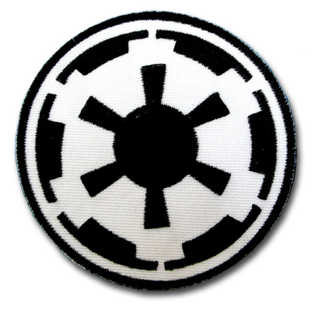 Star Wars Galactic Empire Patch Embroidered Iron On Emblem Badge