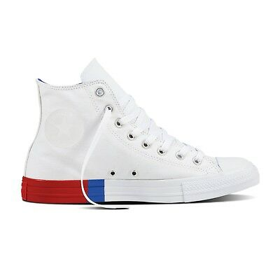 3c2db4d7f88 Converse Chuck Taylor All Star Tri Block Midsole High Men's - White 159639C  | eBay