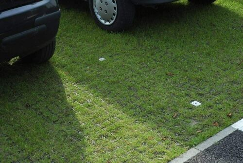Grass Grid Black Paver Base Greenhouse Deck Path Turf Lawn Gravel Shed Garden