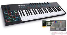 Alesis VI49 Advanced 49-Key USB MIDI Pad/Keyboard Controller