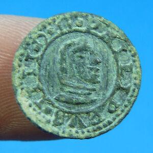 EXCELLENT 1664 PIRATE COB COIN FELIPE IV SPAIN COLONIAL TREASURE TIME PHILIP IV