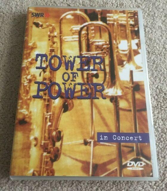 Tower Of Power. In Concert. Live. 1998. Dvd. Region 0. Region Free
