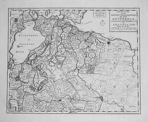 Antique-map-Nieuwe-kaart-van-de-ambagts-heerlykheden-der-stad-Amsterdam