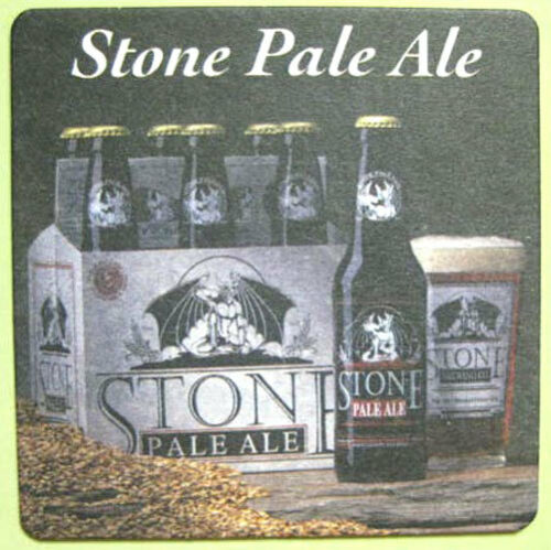 CALIFORNIA Escondido Mat STONE PALE ALE Beer COASTER
