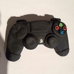 Image Is Loading Edible Playstation 4 Control BirthdayCake Topper Icing Decoration