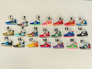 Details about New Balance 2D Sneaker Shoe Keychain Keyring