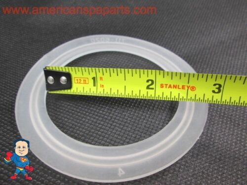 """2 1//2/"""" Spa Hot Tub Pump Union T Gasket Video How To"""