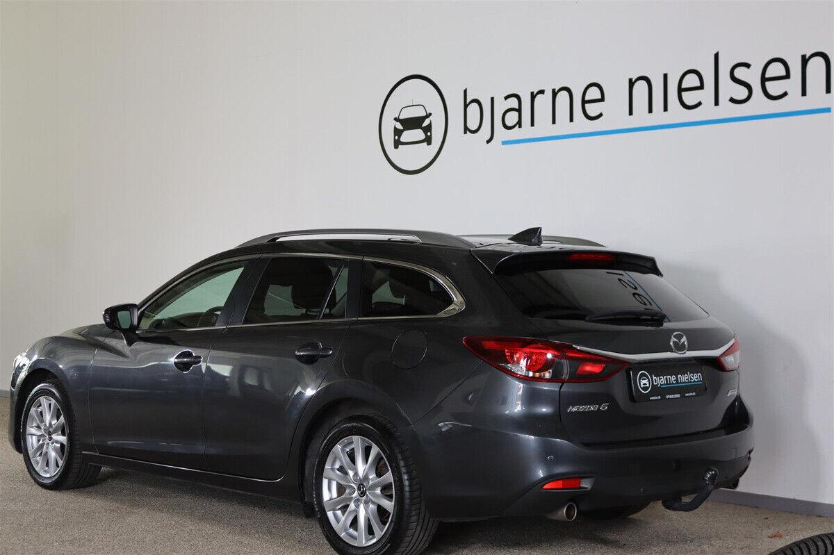 Mazda 6 2,0 SkyActiv-G 165 Vision stc. - billede 2