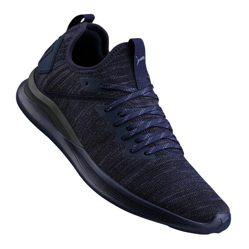 PUMA Ignite Flash evoKNIT Sneaker Blau F06