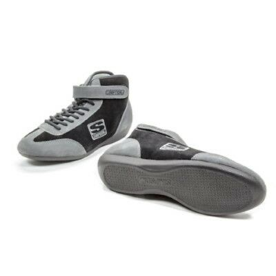 Simpson Racing AD120BK Adrenaline Black Size 12 SFI Approved Driving Shoes
