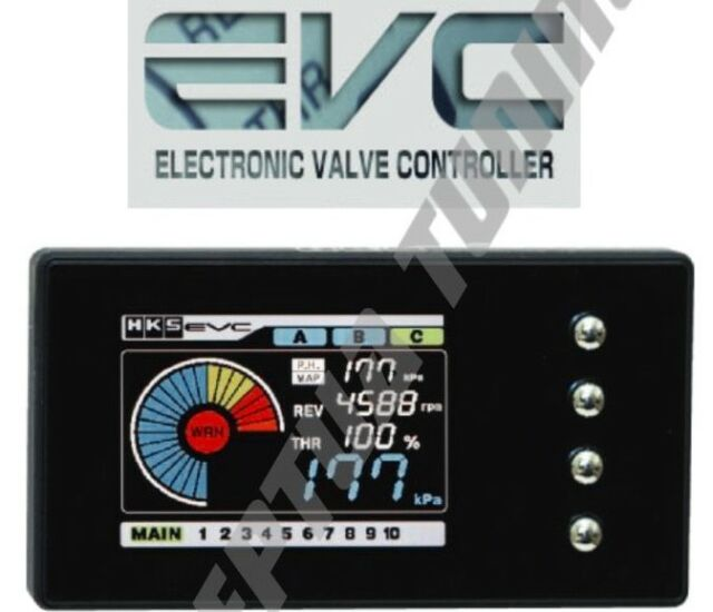 HKS EVC6-IR 2.4 couleur Electronic Boost Controller for R32 GTR Skyline RB 26 DETT