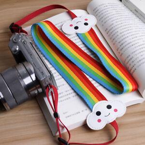 Rainbow-Camera-Shoulder-Strap-Neck-Belt-For-DSLR-SLR-Canon-Nikon-Sony-Polaroid