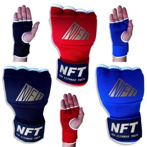 NFT Boxing Inner Gloves Bandages Fist Hand Wraps MMA Muay Thai Punch Padded Mitt