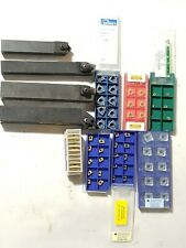 Indexable Lathe Tool Holders Lot Ofarious Brands Cnc Amp Carbide Great Deal