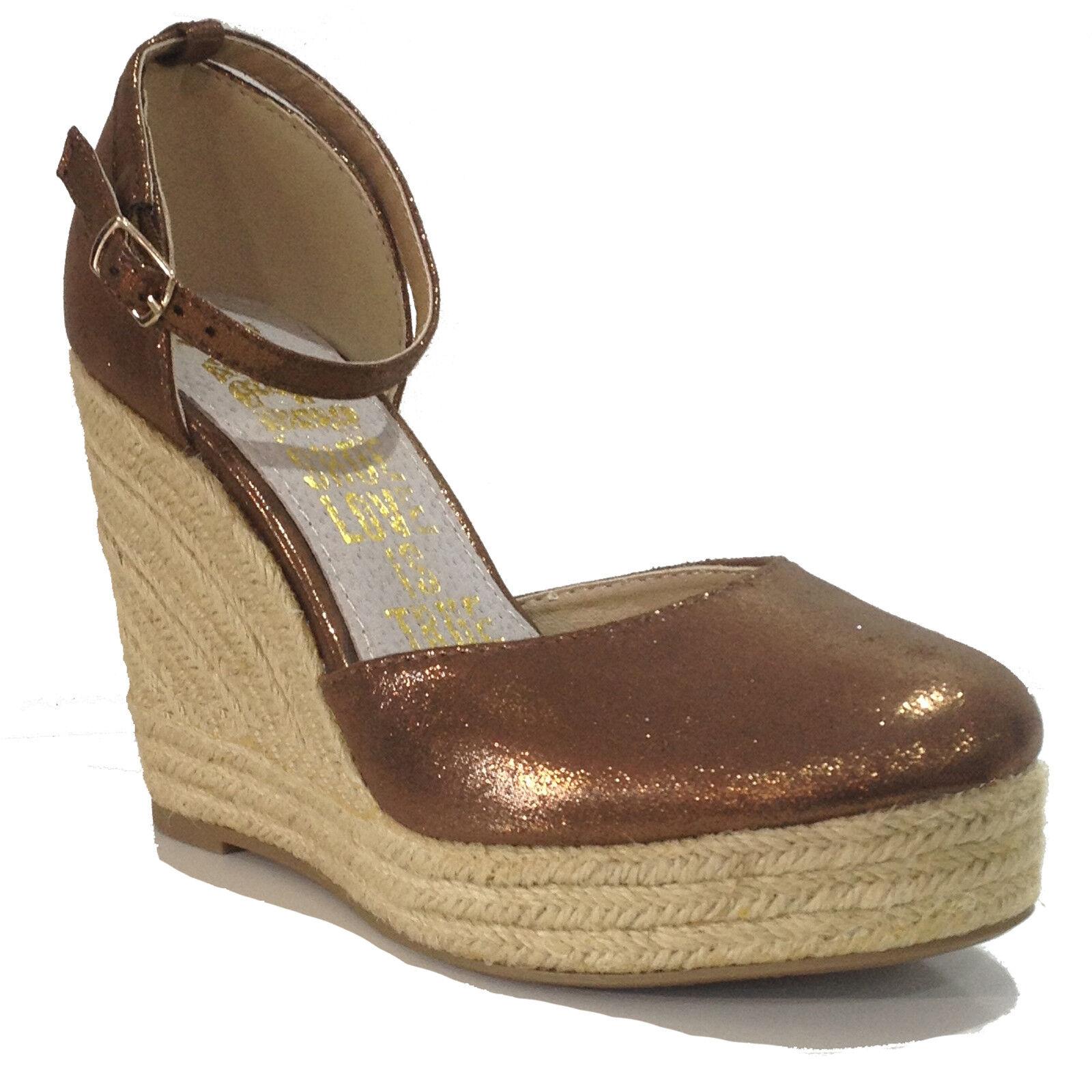 ☼ELEN☼ Sandale talons compensés - Xti -  - Ref: 0467
