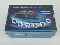Universal Micro Rear View Cmos Ccd Backup Camera 170º Color Waterproof Wired