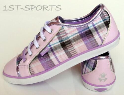 Zapatos Chicas pastelería Carmella Kids Lila Lona Zapatillas bombas