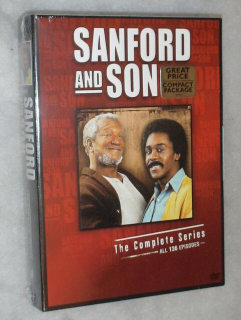 Sanford e Son Serie Completa (US Steptoe) - 17 DVD Cofanetto - Nuovo e Sigillato