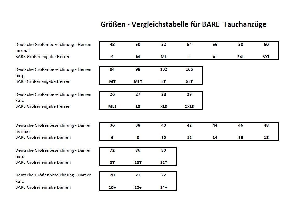 Bare Bare Bare Sport S-Flex Full 7mm Tauchanzug Gr. S-XXL Herren Neoprenanzug f8ffa9