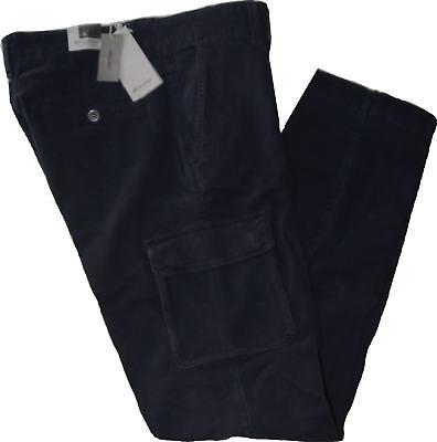 Pantalone uomo HOLIDAY cargo 46 48 50 52 54 56 58 fustagno elasticizzato tasconi