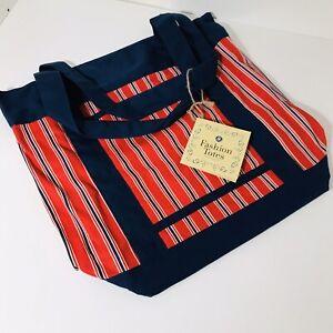 Red-and-Blue-Stripes-Fashion-tote-Bag-Shoulder-Bag-Fabric-Tote-Bag
