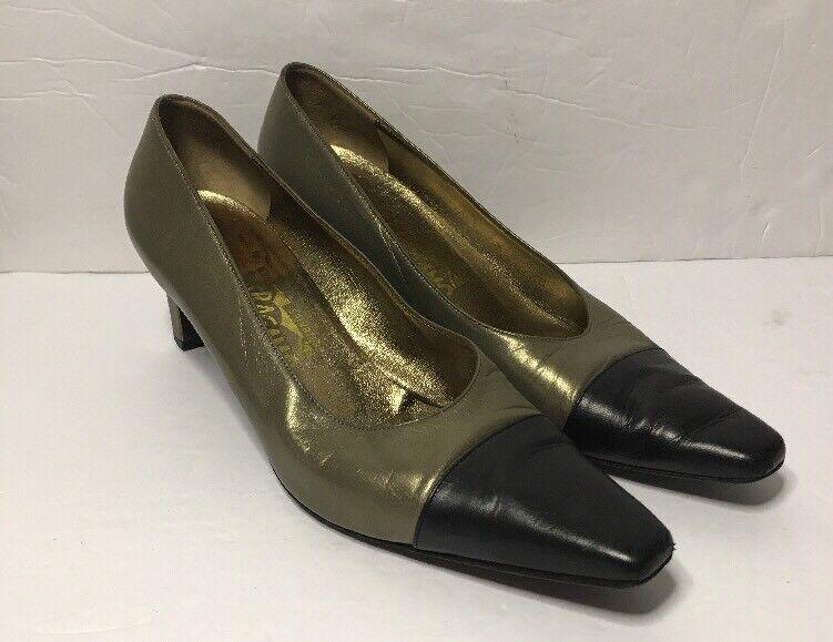 Salvatore Ferragamo Pumps Size 8 1/2 B Women's DS 66540 D59