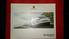"PORSCHE 911 R ""PRINCIPLE OF PURITY"" PROSPEKT BROCHURE CATALOGUE"