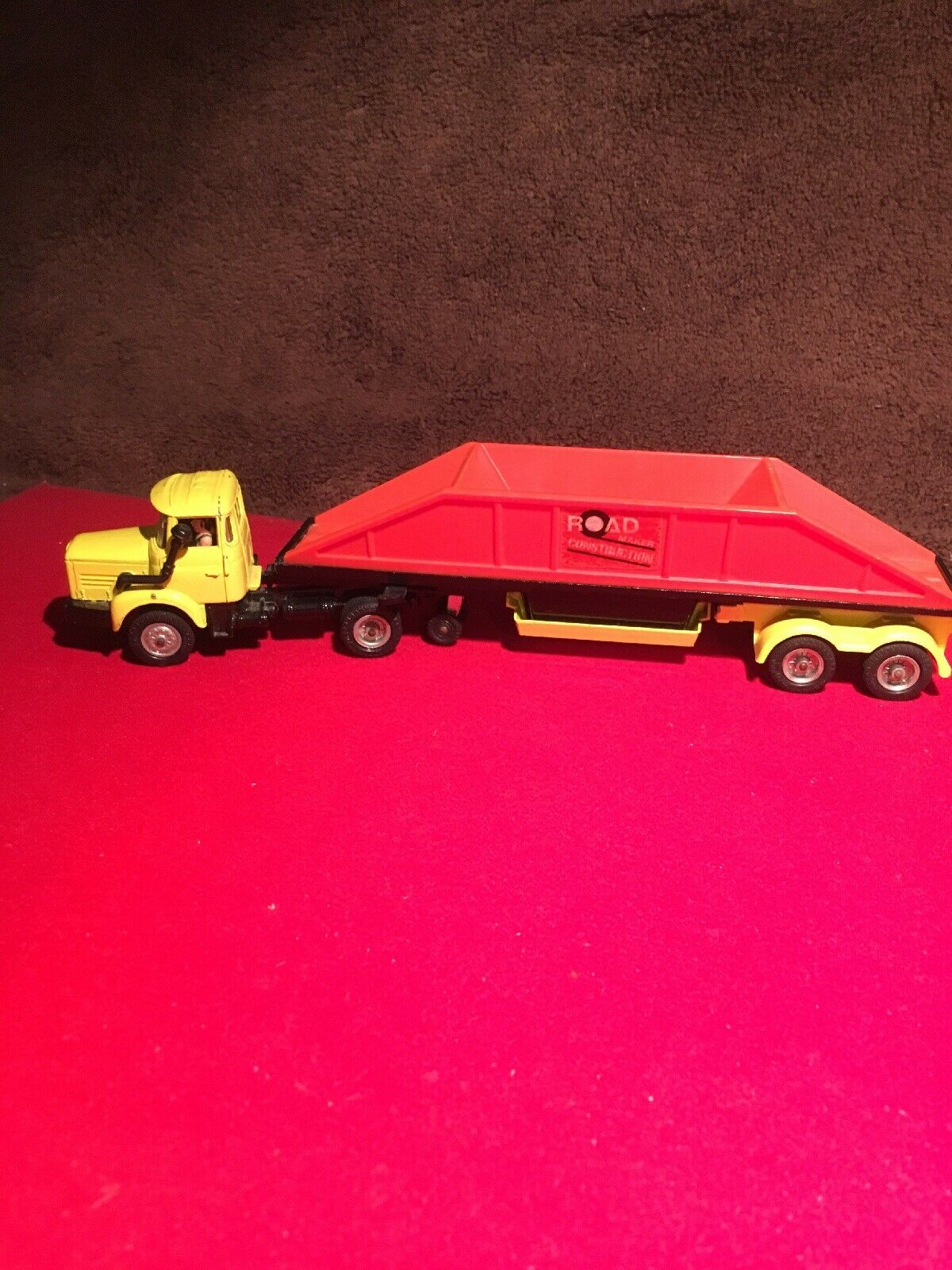 Corgi Berliet  Road Maker Construction Truck  (Vintage 1970's)