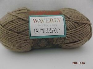 Bernat Blissful Yarn ~ Colour  Ruby ~ 100 Grams ~ 106 Yards ~ #6 Super Bulky