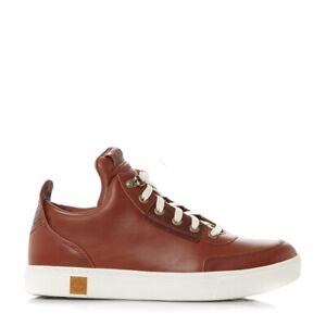 SCARPE-CASUAL-UOMO-TIMBERLAND-AMHERST-HIGHT-TOP-A17IX-PELLE-BARN-ORIGINAL-AI-NEW