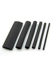 Heat Shrink Tubing 1-13mm tubo negro Sleeving Pack