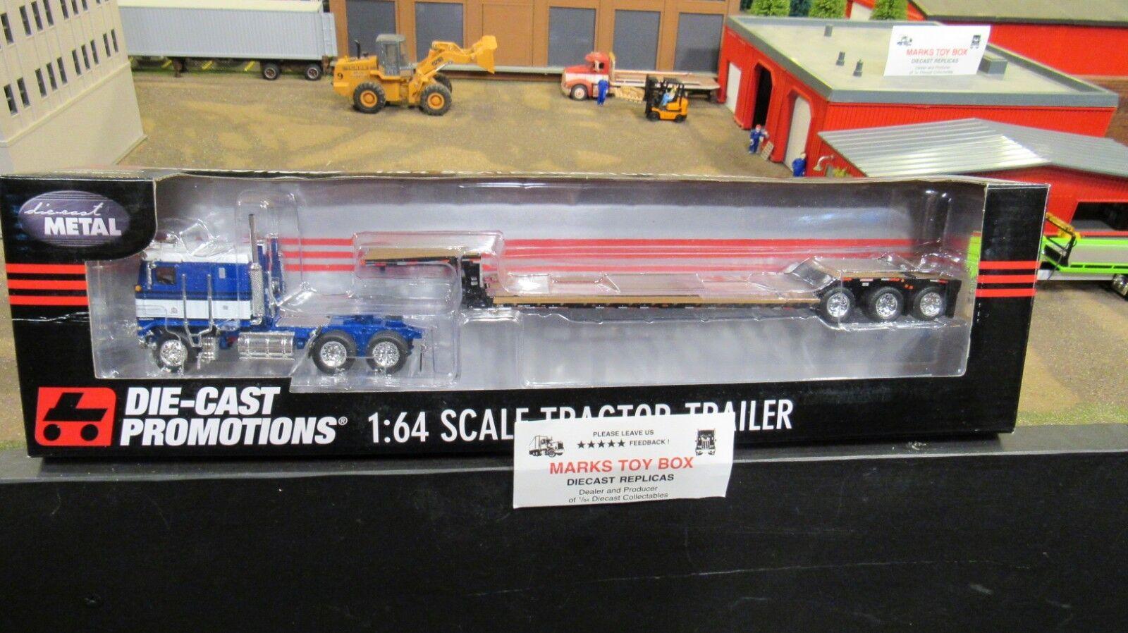 DCPBlank propietario operador Kw K100 Semi Camión Remolque de caída renegado 1 64 CL