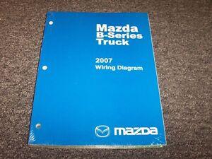 2007 mazda b4000 b3000 b2300 b series truck electrical mercedes-benz wiring diagrams mazda b series wiring diagram #14