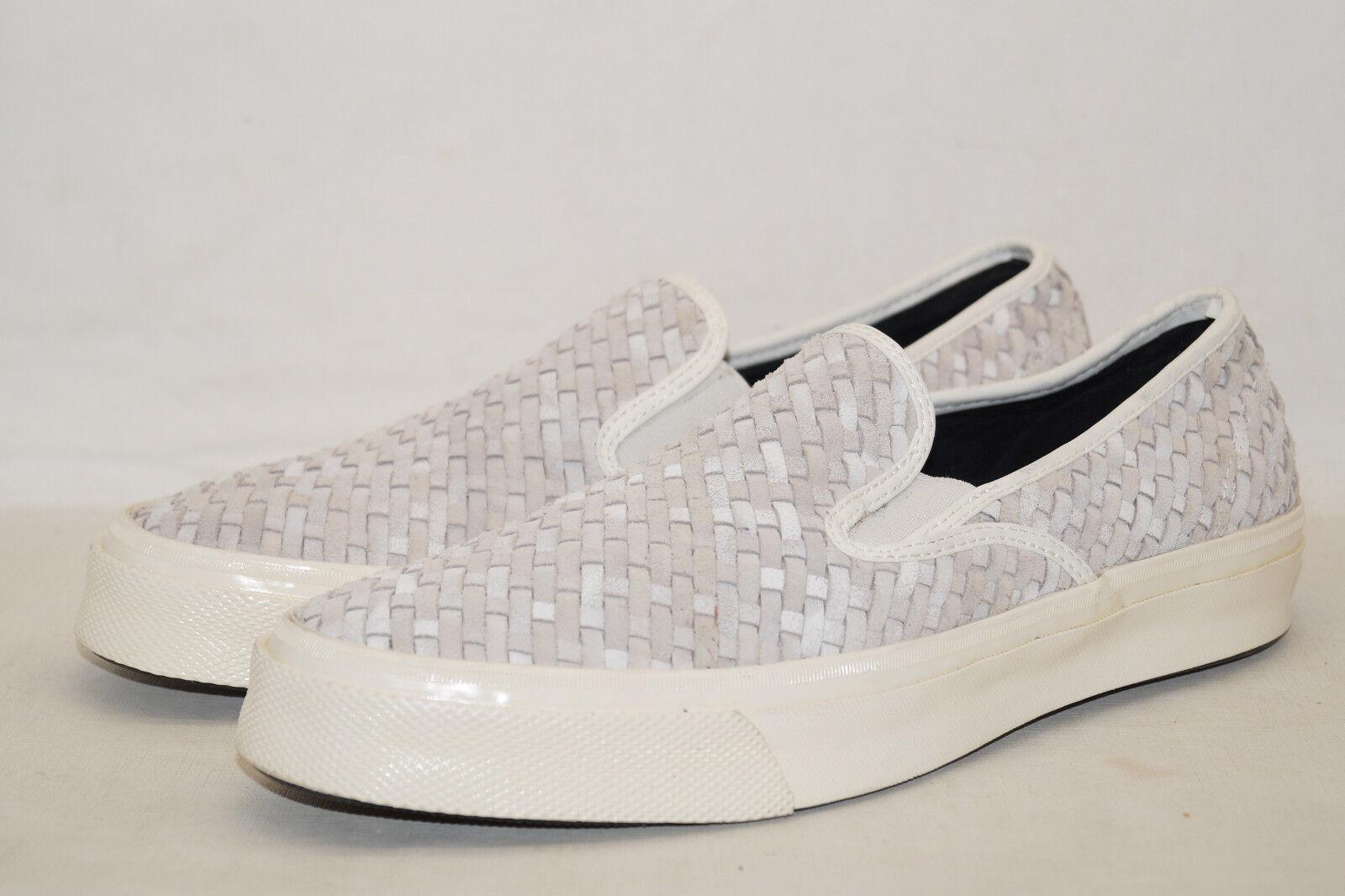 Converse Deck Star 67 Woven Sued weiss Slippers EU 43 UK 9 SAMPLES 151247      Moderater Preis