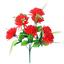 Beautiful Artificial Spiky Chrysanthemum Bush//Bunch 6 Colours8 Flower Heads