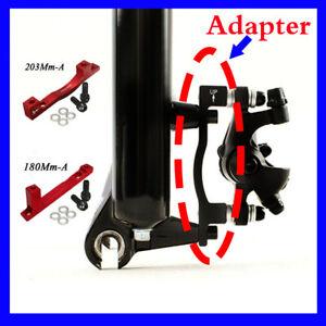 Adaptador-de-freno-de-disco-Post-PM-para-Bicicleta-de-Montana-Bici-180-203mm-Delantero-Trasero-nos