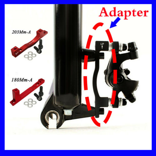 Bicycle Disc Brake Adapter Post PM for MTB Bike 180//203mm Front Rear Rotor US