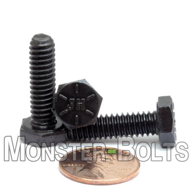 1//4-20x3//4 Stainless Steel Hex Cap Screws FT Hex Bolts 18-8 COARSE THREAD - UNC 25 pcs