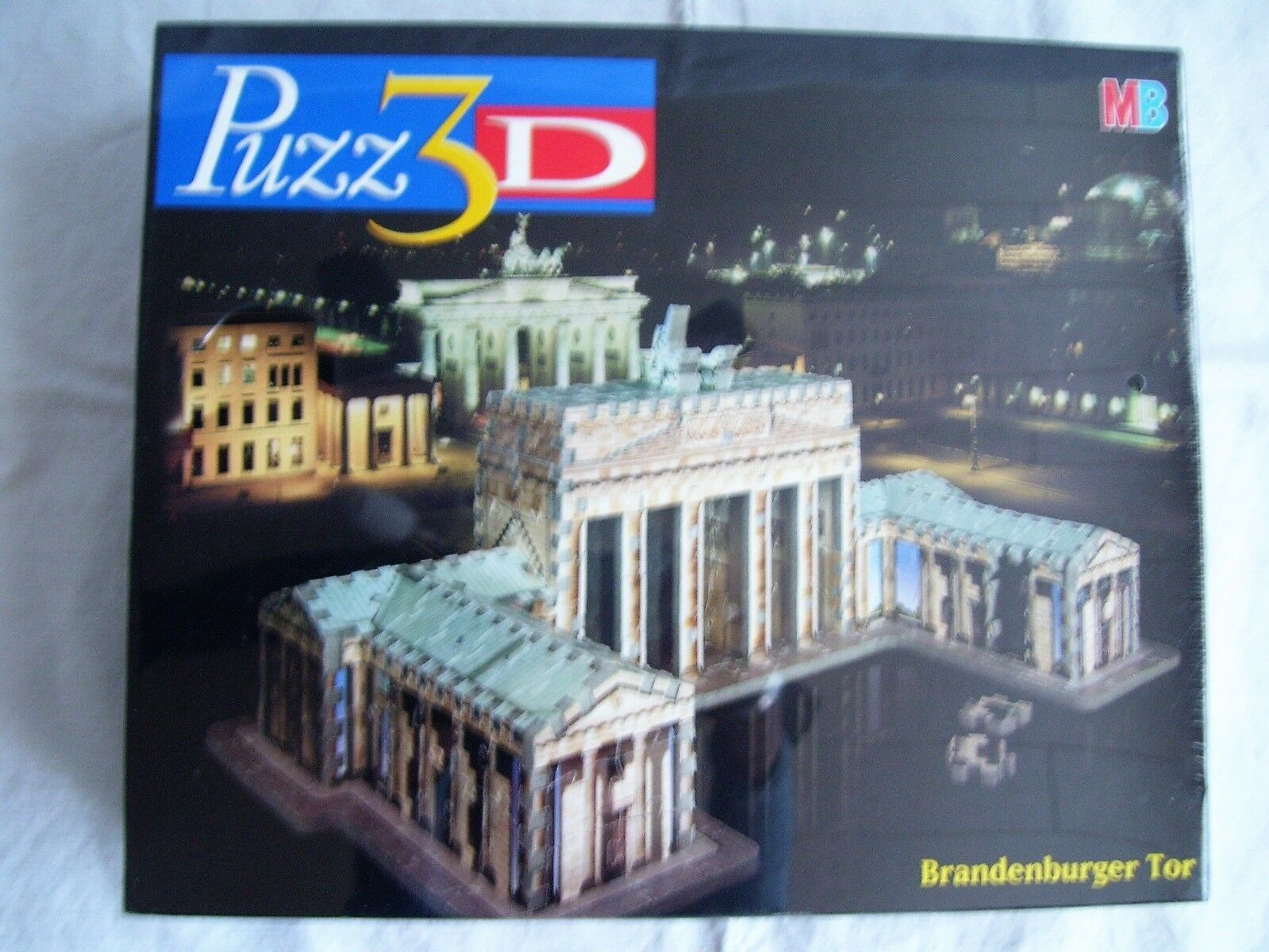 MB PUZZ 3d-Porta di Brandeburgo - 357 Pezzi-Nuovo Scatola Originale e in pellicola - 3d-Puzzle