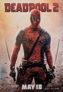 Poster A3 Deadpool 2 Marvel Pelicula Cartel Film Decor Impresion 05